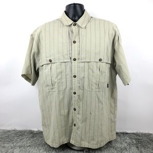 Patagonia Men's Flannel Short Sleeve Button Down